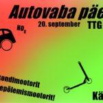 Rahvusvaheline autovaba päev – 22.september